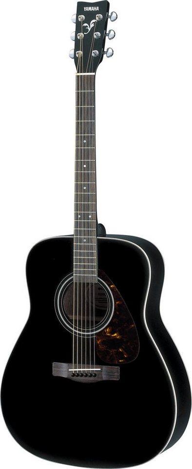 yamaha westerngitarre 4 4 dreadnought gitarre f370bl. Black Bedroom Furniture Sets. Home Design Ideas