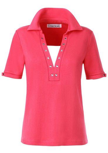 Collection L. Shirt in formstabilen Interlock