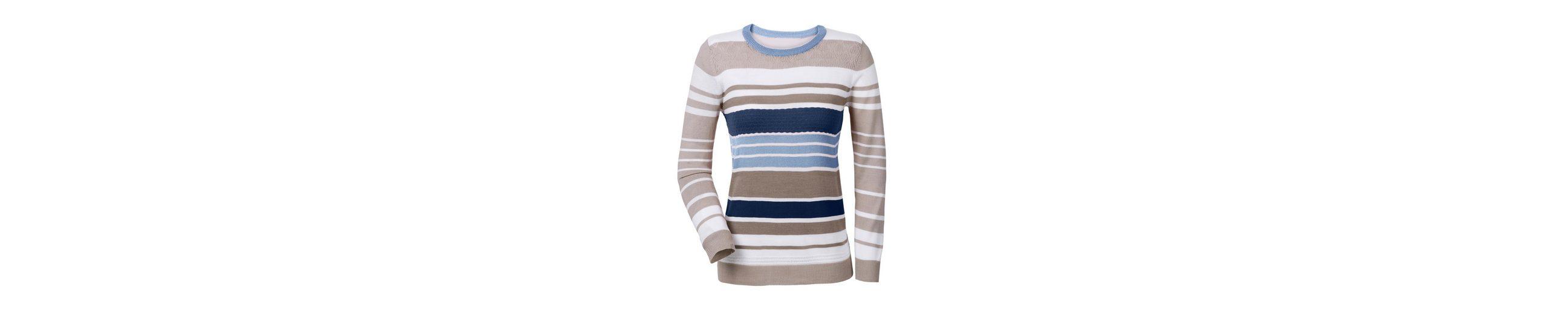 Collection L Pullover im Ringel-Dessin Neue Version Billig Verkauf Beruf Billig Verkauf Größte Lieferant Günstig Kaufen 2018 Neueste W2P4nTMGb