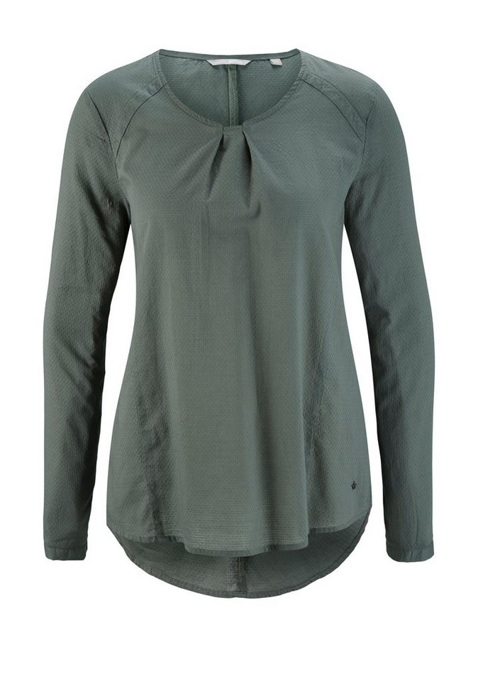 MUSTANG Bluse in castor gray