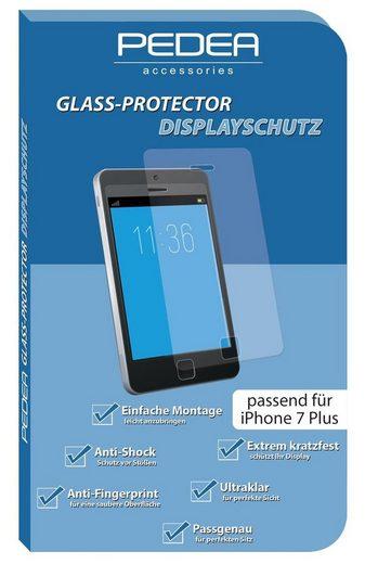 PEDEA Schutzglas »Glas Displayschutz für Apple iPhone 7+/8+«