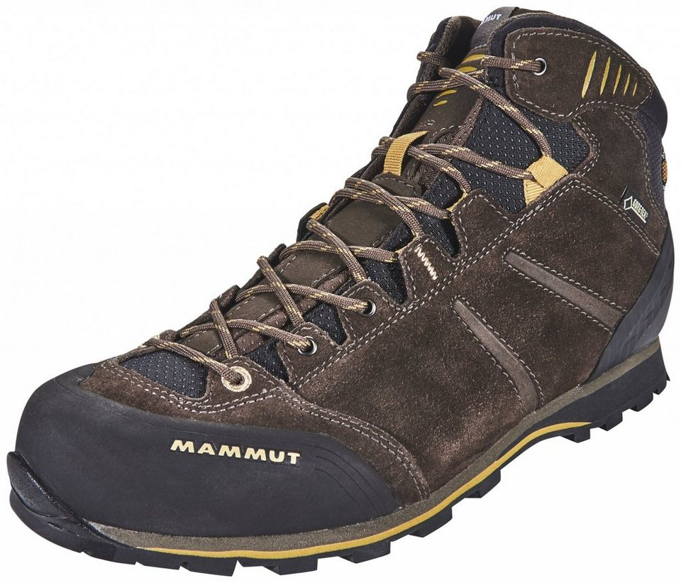 Mammut Kletterschuh »Wall Guide Mid GTX Shoes Men« in braun