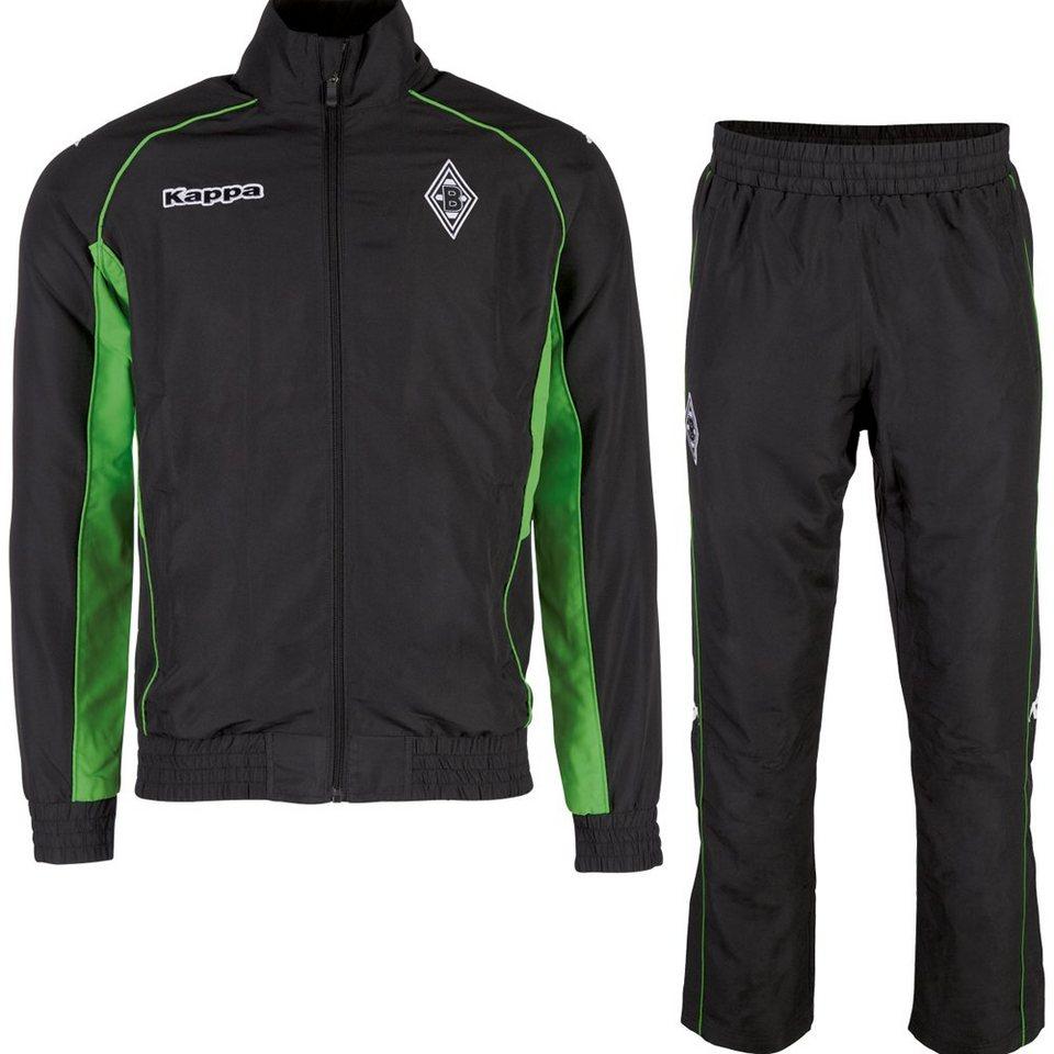 KAPPA Trainingsanzug »Borussia Mönchengladbach Trainingsanzug 16-17« in black