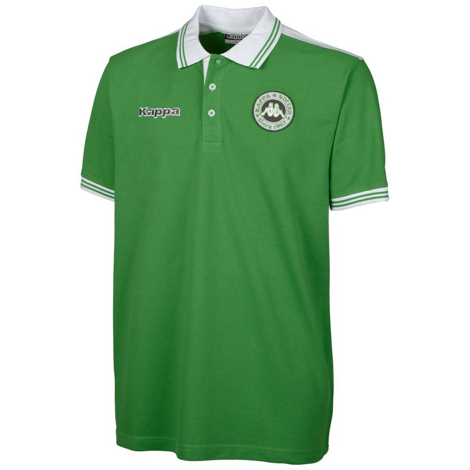 KAPPA Polo-Shirt »SOCCER POLO-SHIRT« in classic green