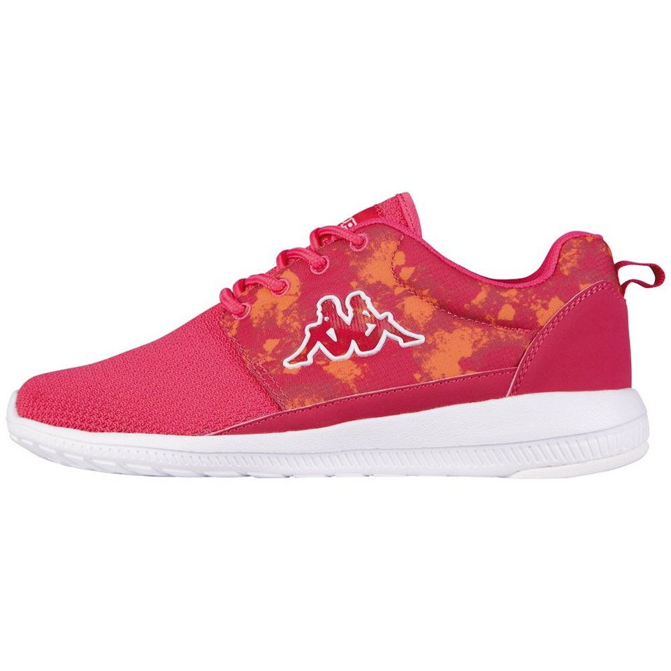 KAPPA Sneaker »SPEED II BTC« in pink/white