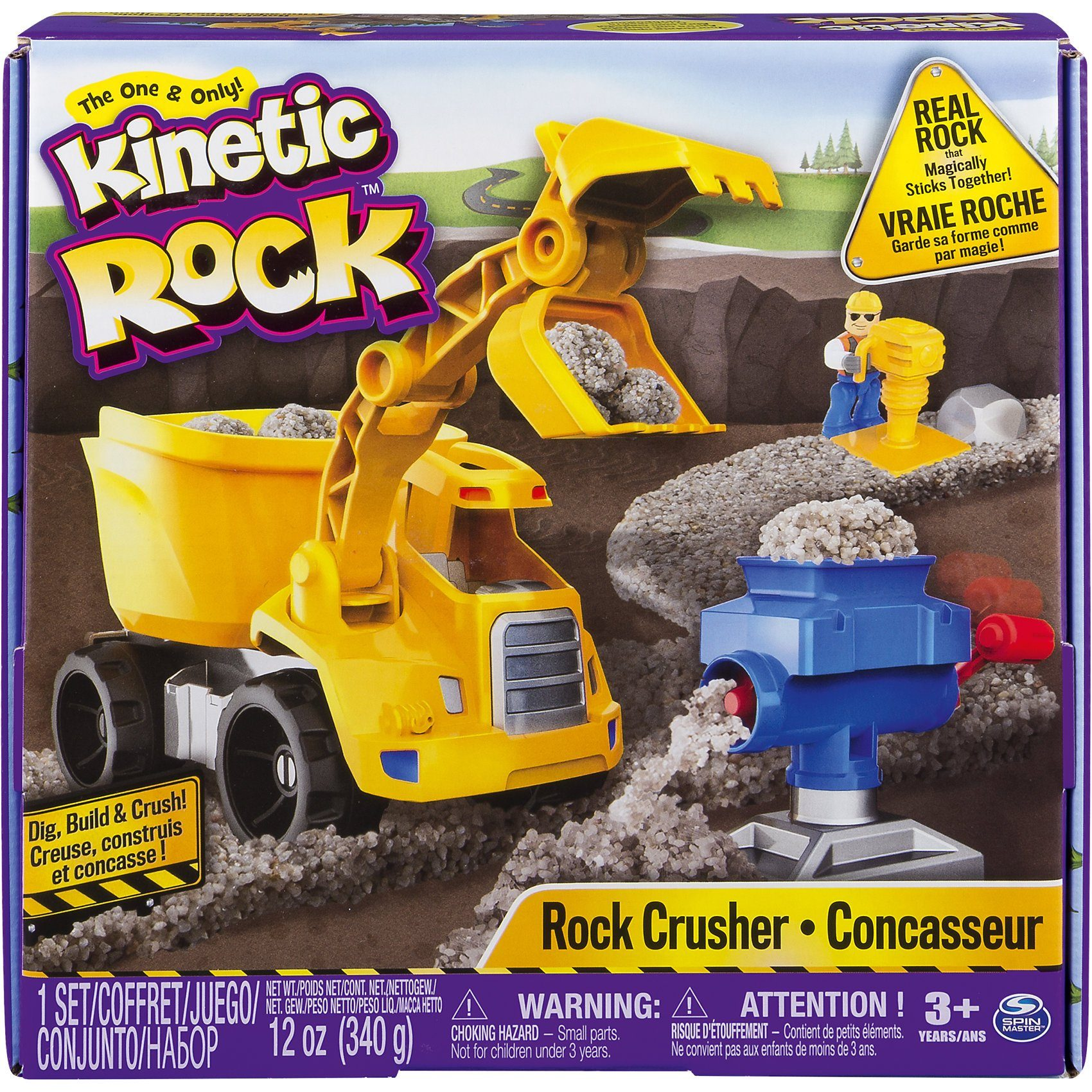 Spin Master Kinetic Rock - Rock Crusher