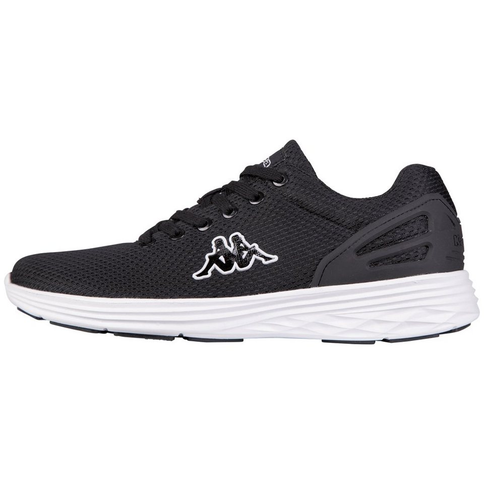 KAPPA Sneaker »TRUST« in black/white