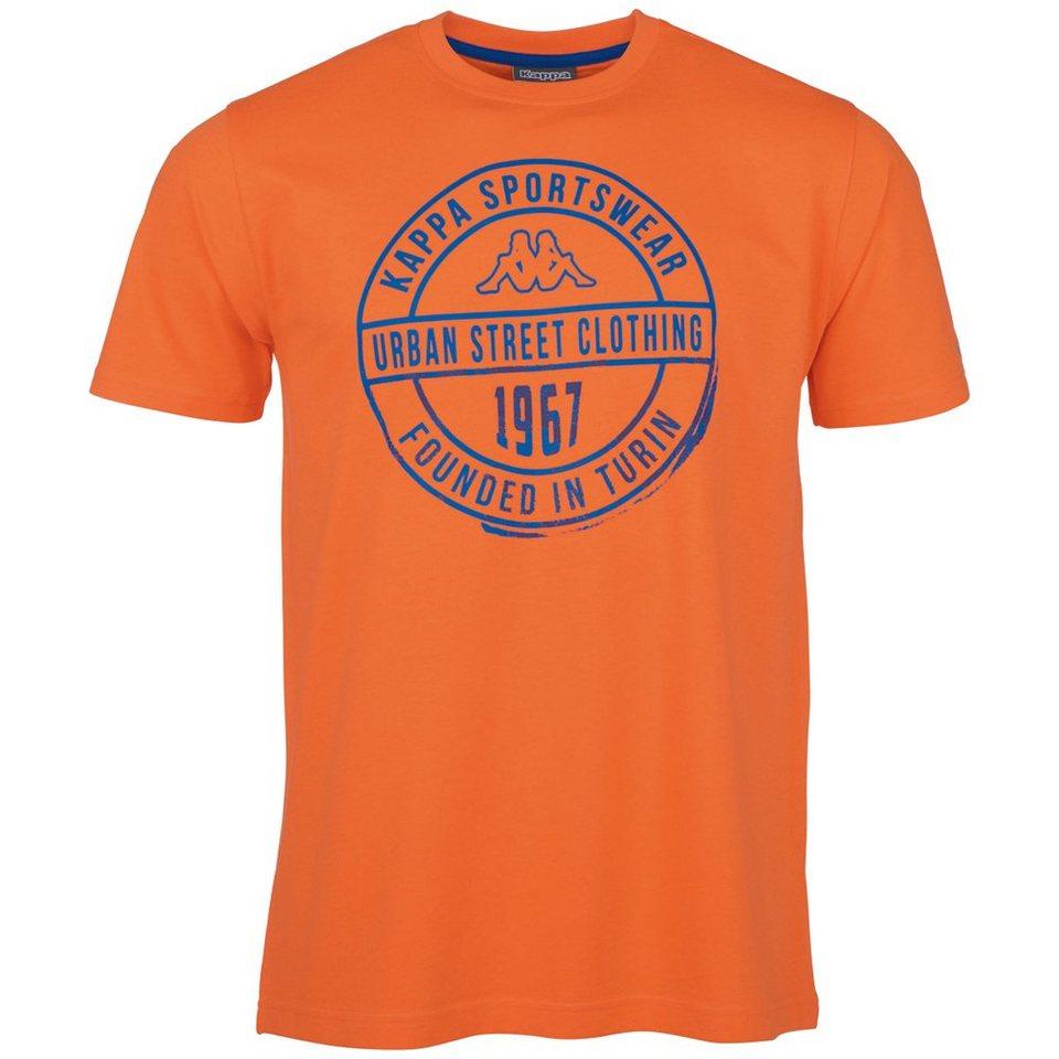 KAPPA T-Shirt »ZAHIT« in neon orange