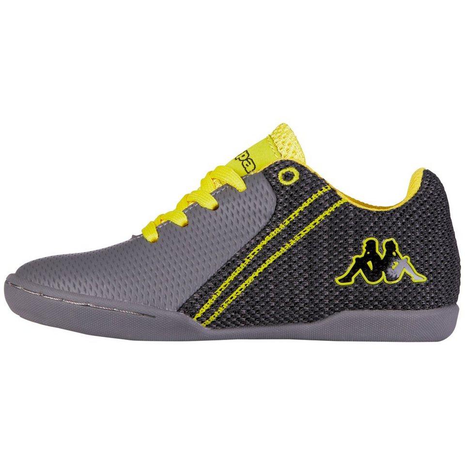 KAPPA Sneaker »SCORPION TEENS« in anthra/yellow