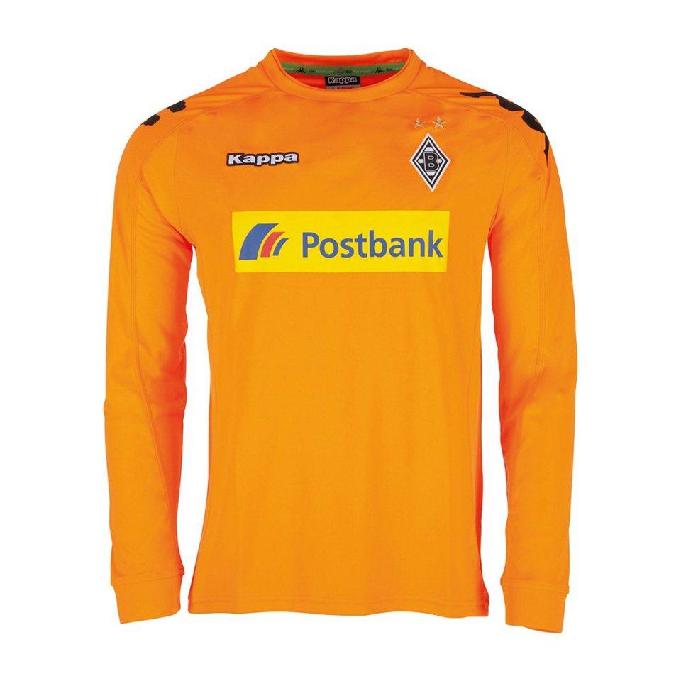 KAPPA Kinder Trikot »Borussia Mönchengladbach Torwarttrikot Kids 16-17« in shocking orange