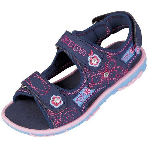 Kappa »BLOOMY KIDS« Sandale mit aufwändiger Verzierung