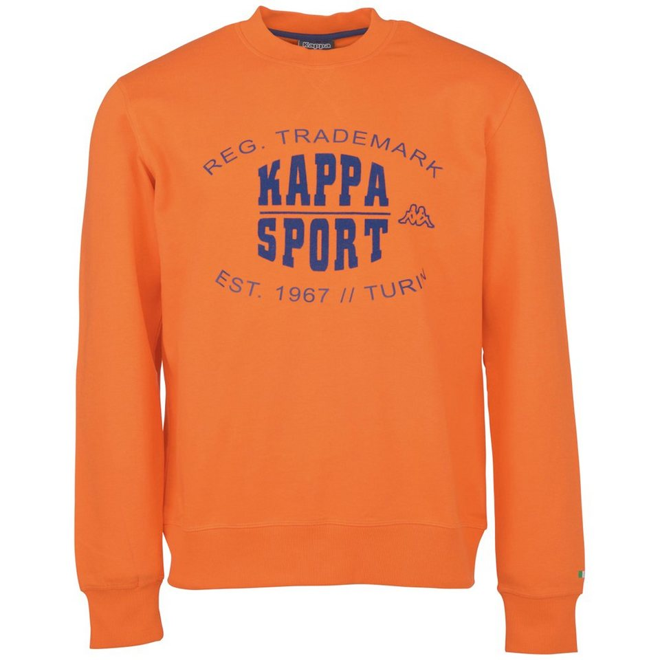 KAPPA Sweatshirt »ZAHUR« in neon orange