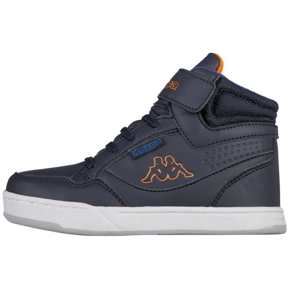 KAPPA Sneaker »FORWARD MID TEENS« in navy/orange