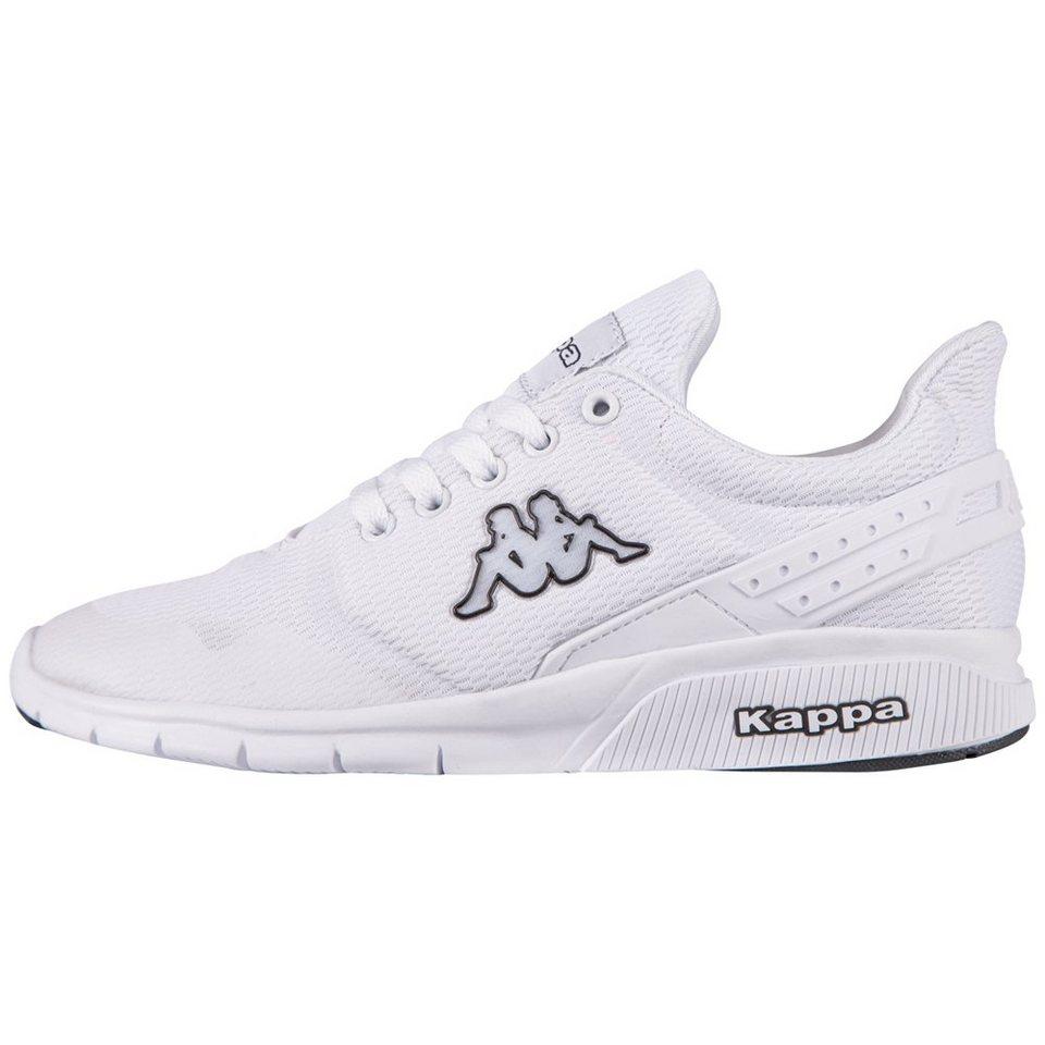 KAPPA Sneaker »NEW YORK« in white/black