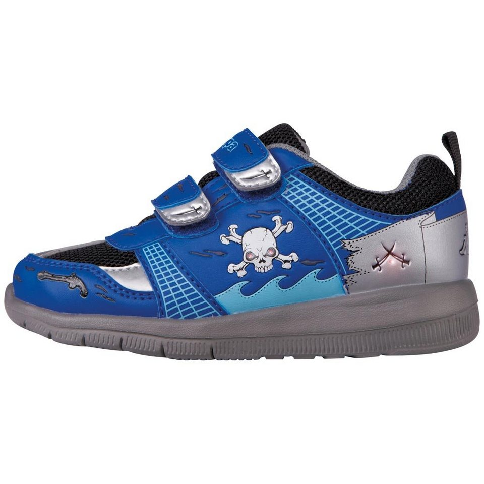 KAPPA Sneaker »PIRATE KIDS« in blue/black