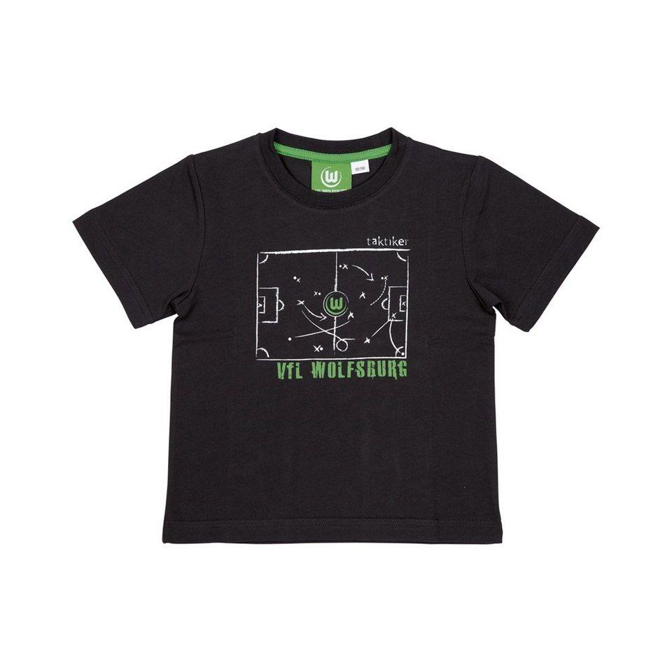 KAPPA Fan Artikel »VFL Wolfsburg Unbranded T-Shirt Baby« in black