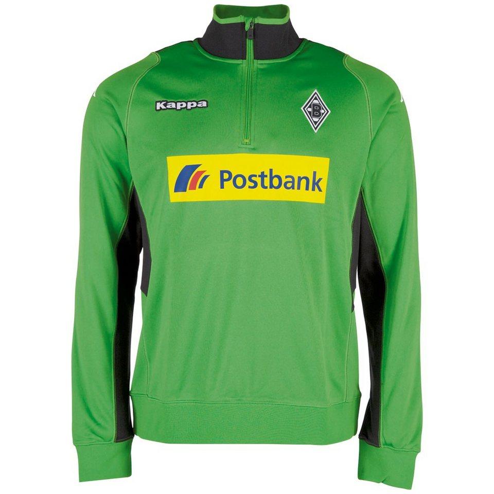 KAPPA Trainingspullover »Borussia Mönchengladbach Trainingspullover 16-17« in classci green