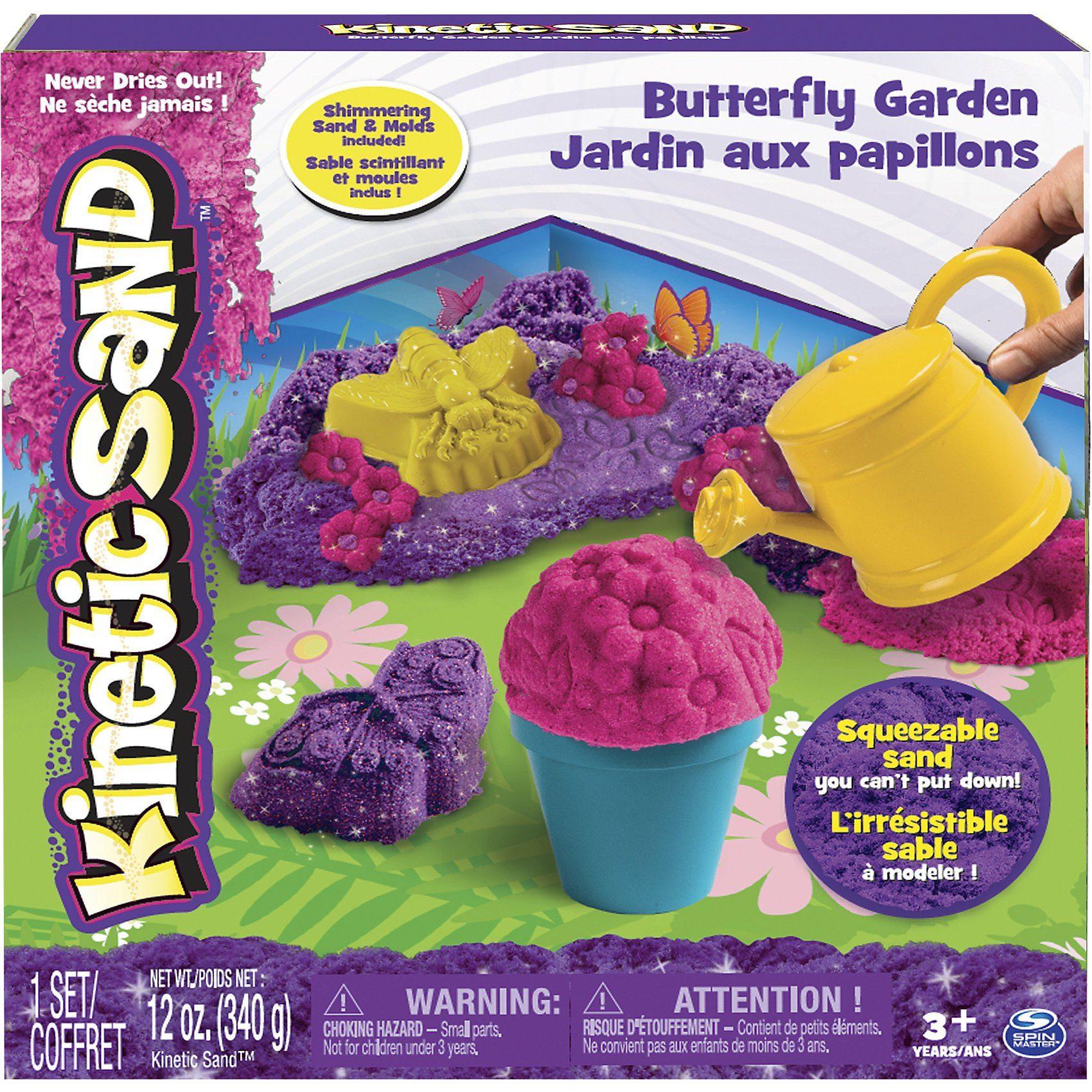 Spin Master Kinetic Sandset Butterfly Garden