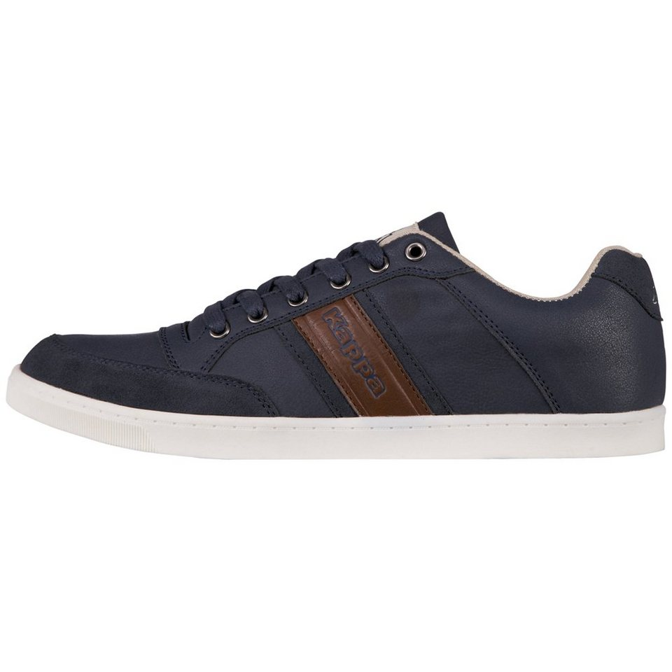 KAPPA Schuhe »CARMELO LOW« in navy/cognac