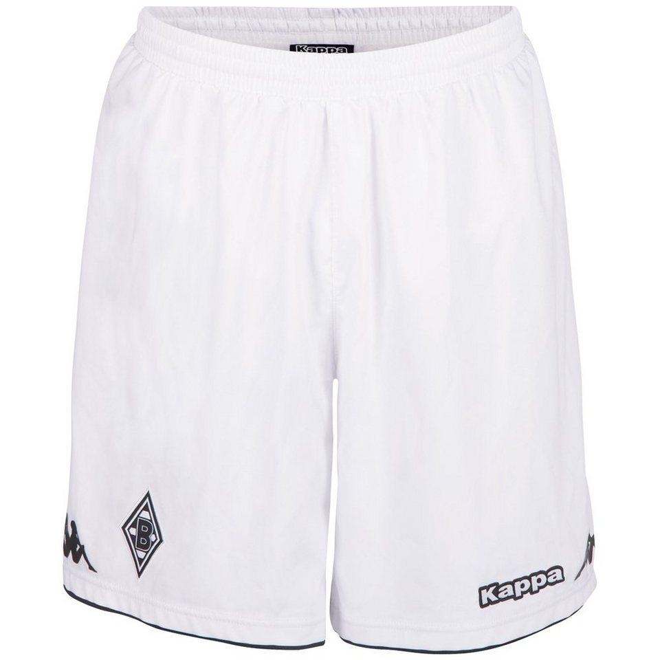 KAPPA Trikotshorts »Borussia Mönchengladbach Trikot-Shorts 16-17« in white