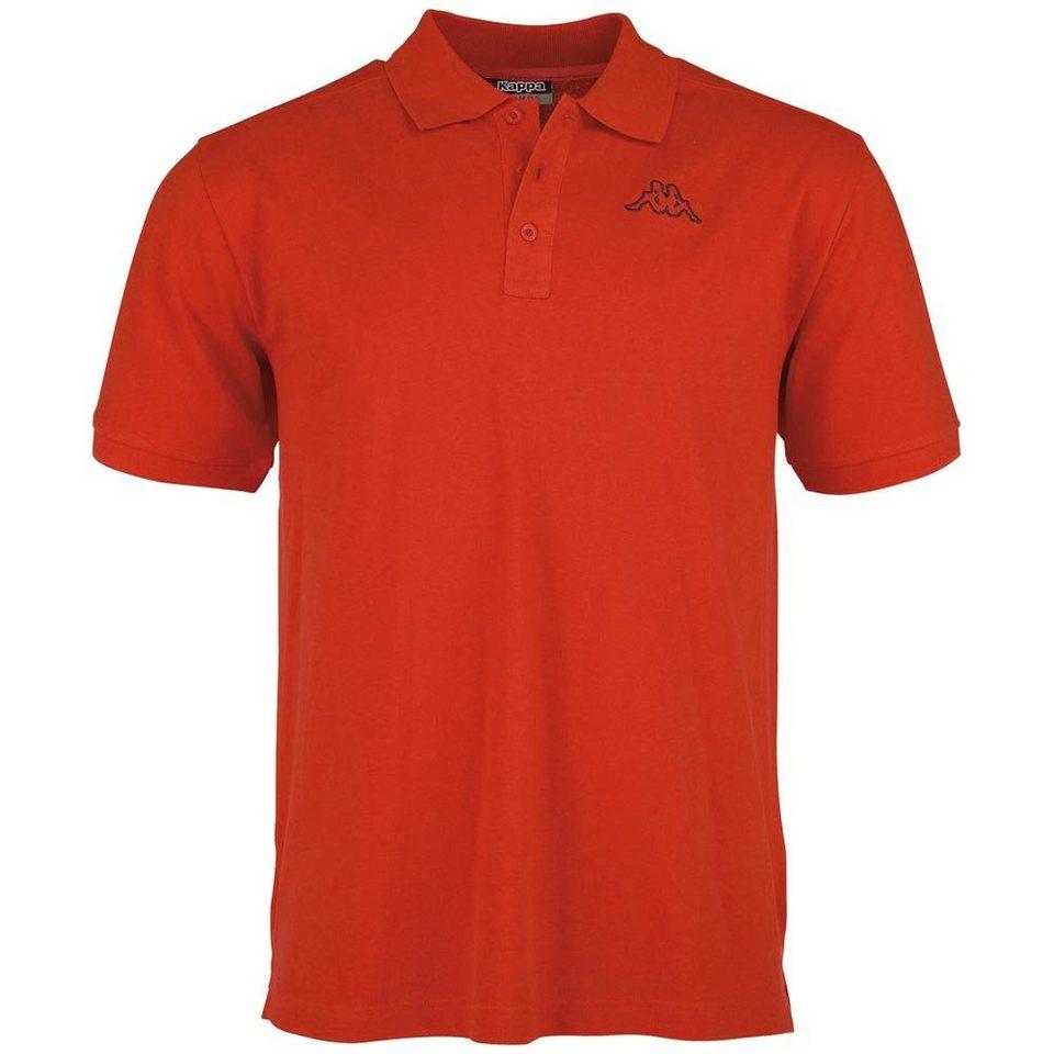 KAPPA Poloshirt »PELEOT (NEW COLOUR)« in scarlet