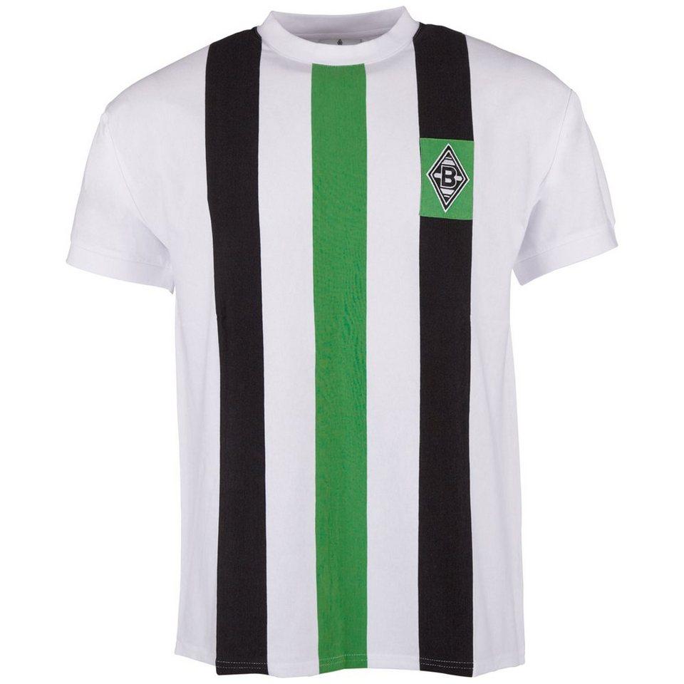 KAPPA T-Shirt »Borussia Mönchengladbach Retro T-Shirt« in white