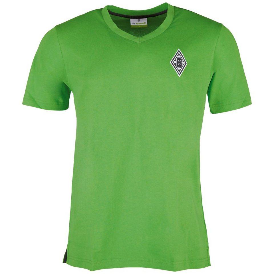 KAPPA T-Shirt »Borussia Mönchengladbach T-Shirt « in classic green