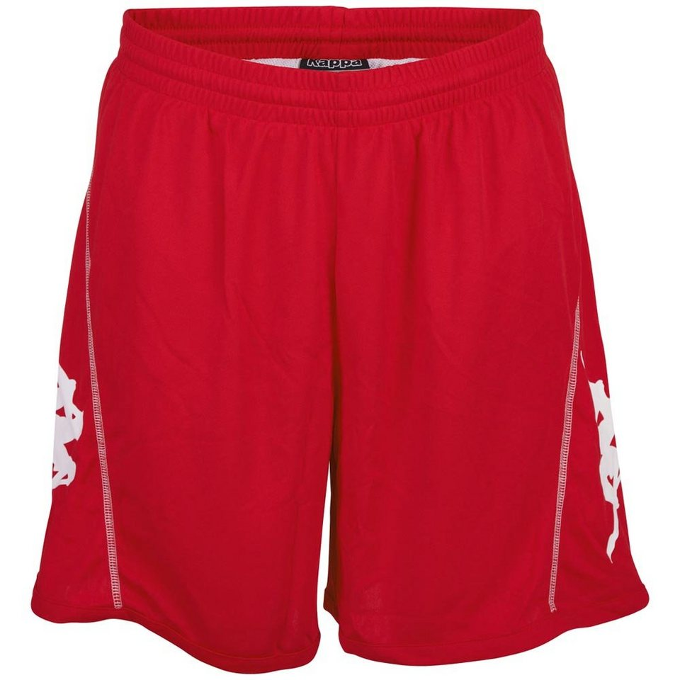 KAPPA Training Shorts »ARISTON« in tomato