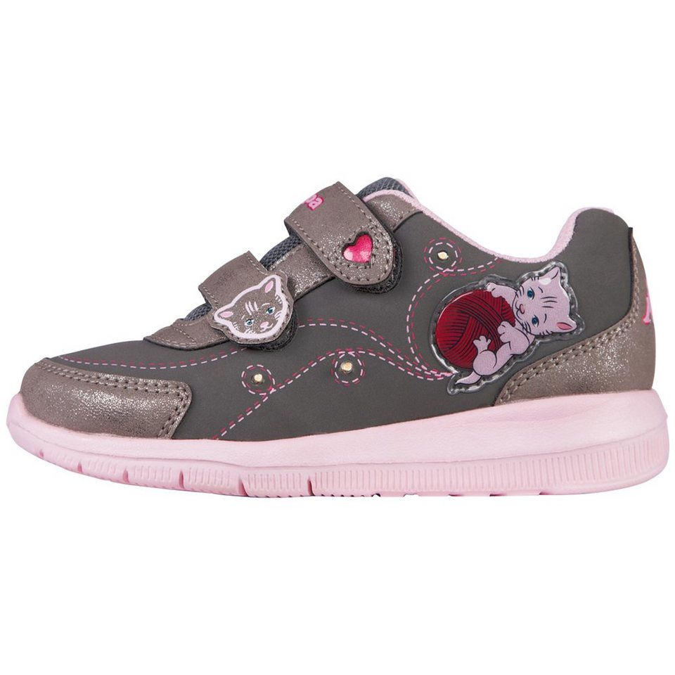 KAPPA Sneaker »KATINKA KIDS« in grey/rosé