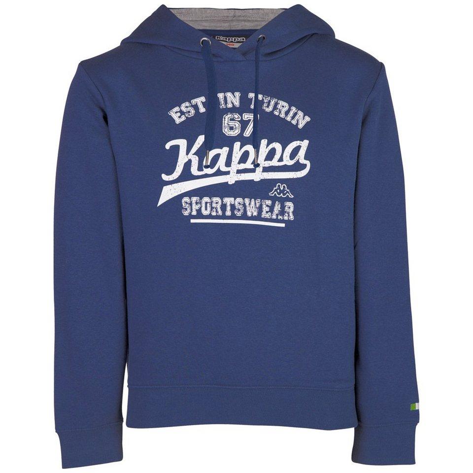 KAPPA Kapuzensweatshirt »WANJA« in night blue