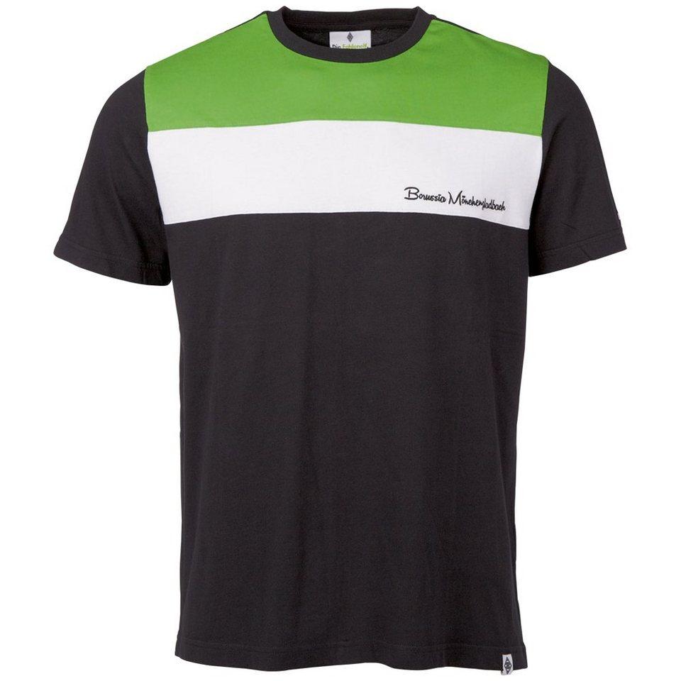 KAPPA T-Shirts »Borussia Mönchengladbach T-Shirt « in black