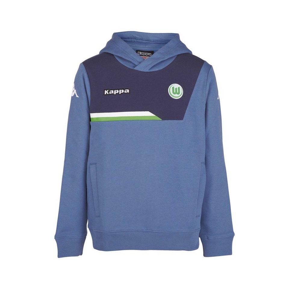 KAPPA Fan Artikel »VfL Wolfsburg Sweatshirt Sparetime Kids« in jeans