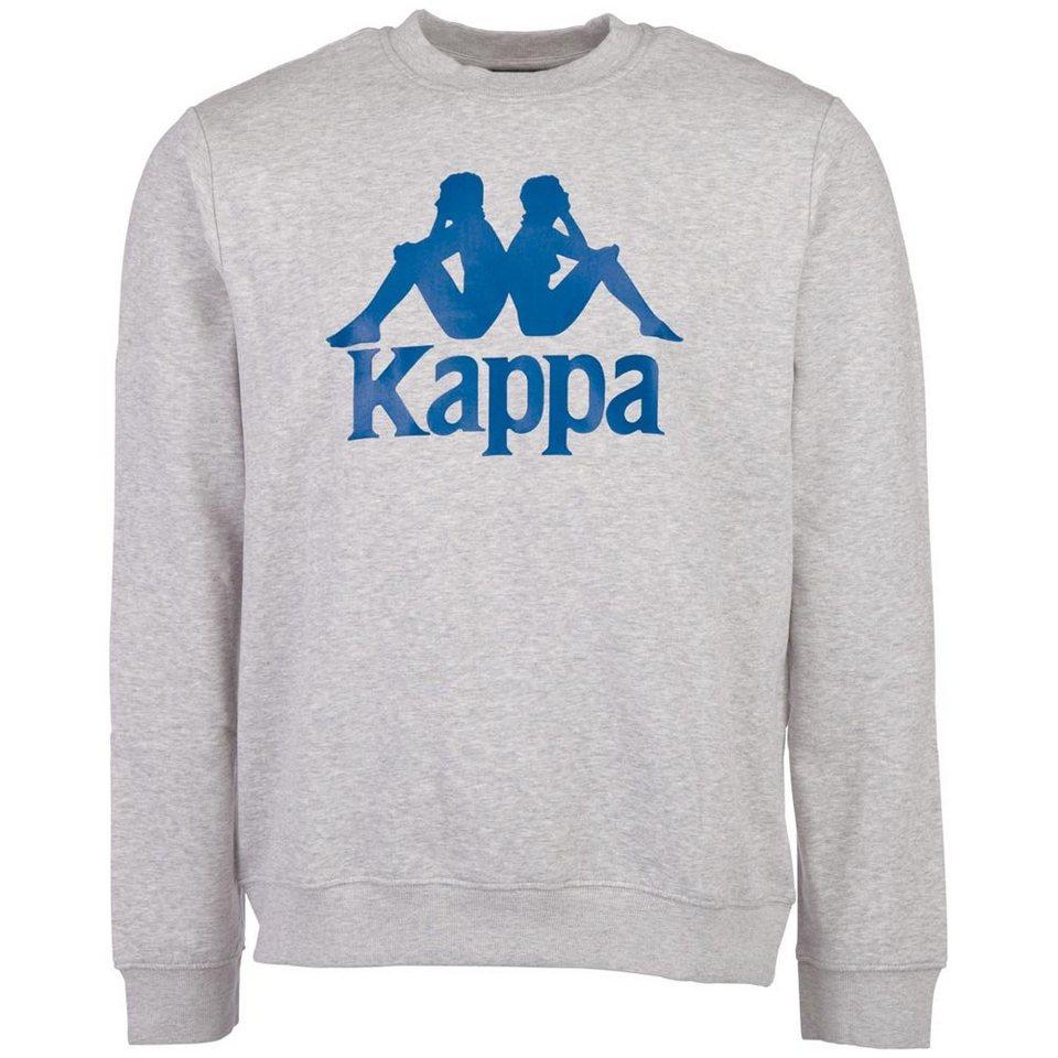KAPPA Sweatshirt »SERTUM« in grey melange