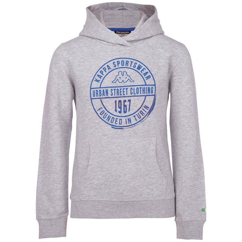 KAPPA Sweatshirts »ZENO KIDS« in grey melange