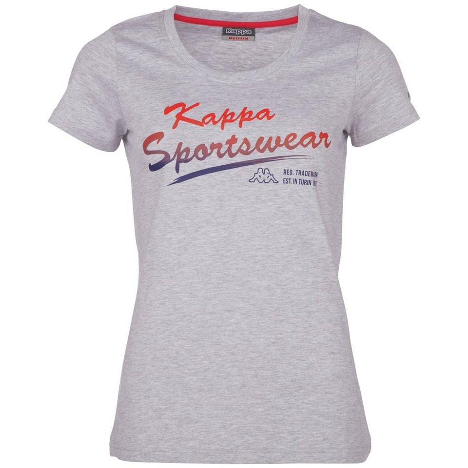 KAPPA T-Shirt »ZOFIA« in grey melange