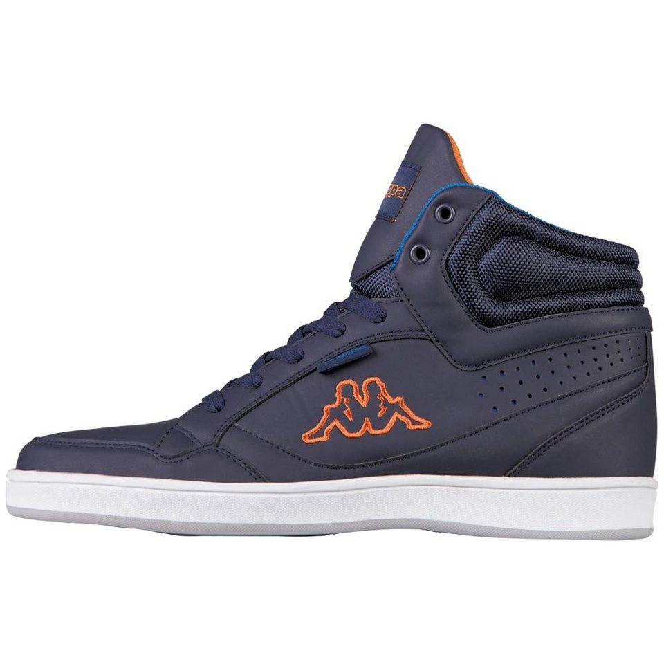 KAPPA Sneaker »FORWARD« in navy/orange
