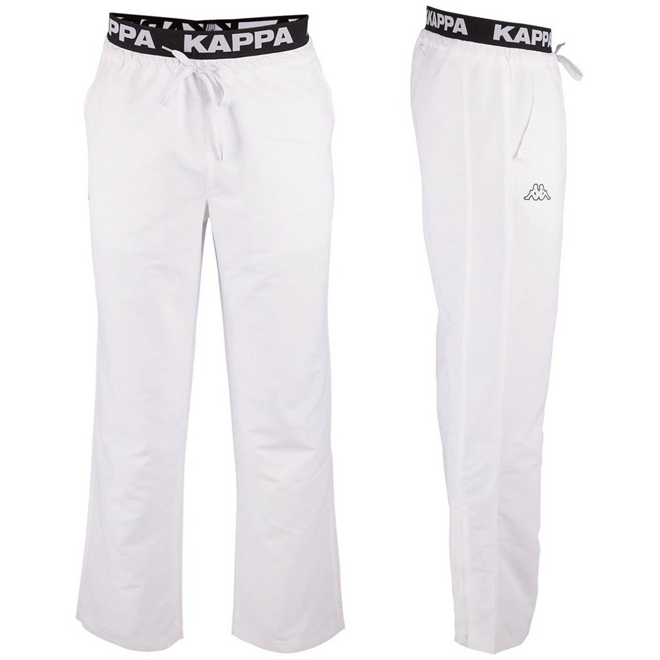 KAPPA Trainingshose »VARID« in white