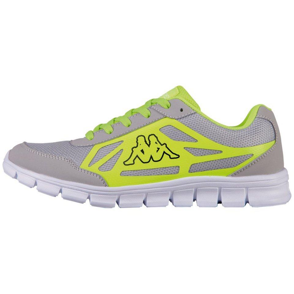 KAPPA Sneaker »SQUARE« in grey/yellow