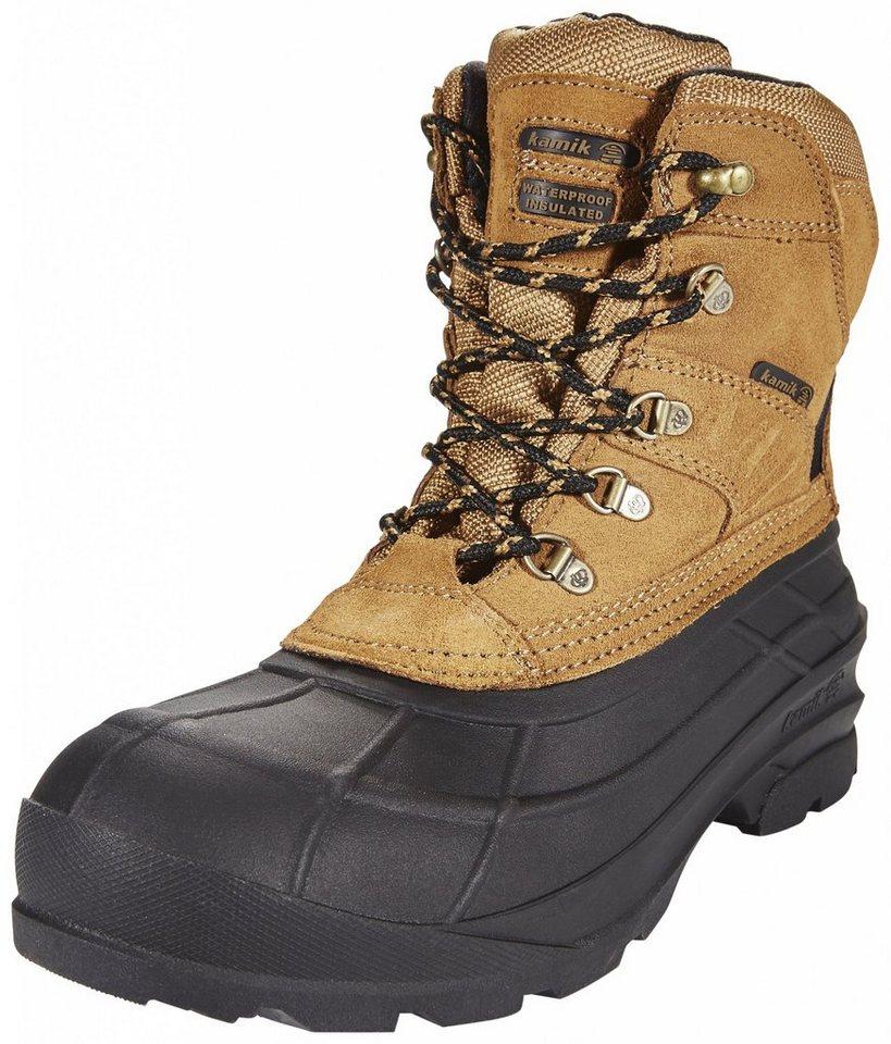 Kamik Kletterschuh »Fargo Leather Boots Men« in braun