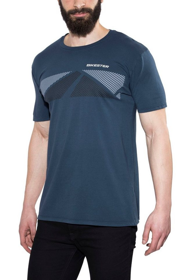 Bikester T-Shirt »Logo Shirt« in blau