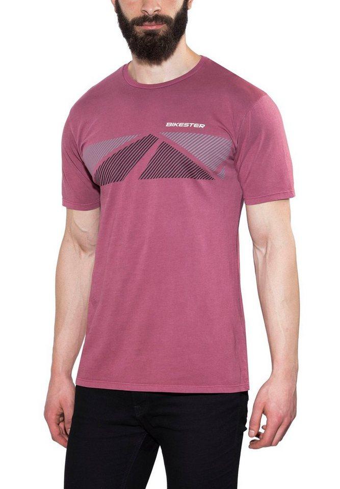 Bikester T-Shirt »Logo Shirt Unisex« in rot
