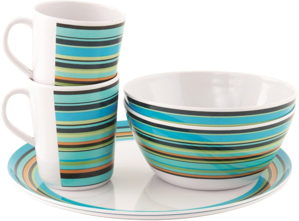 Easy Camp Camping-Geschirr »Java Melamine Set 2 Persons«