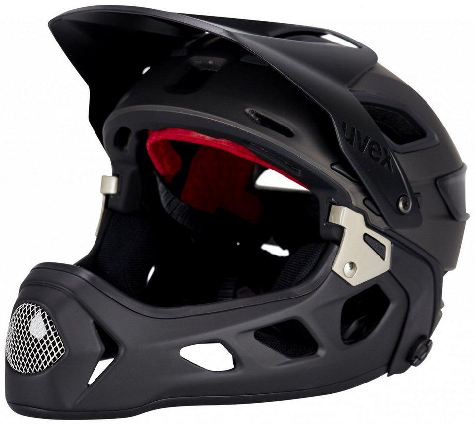 UVEX Fahrradhelm »jakkyl hde Helmet« in schwarz