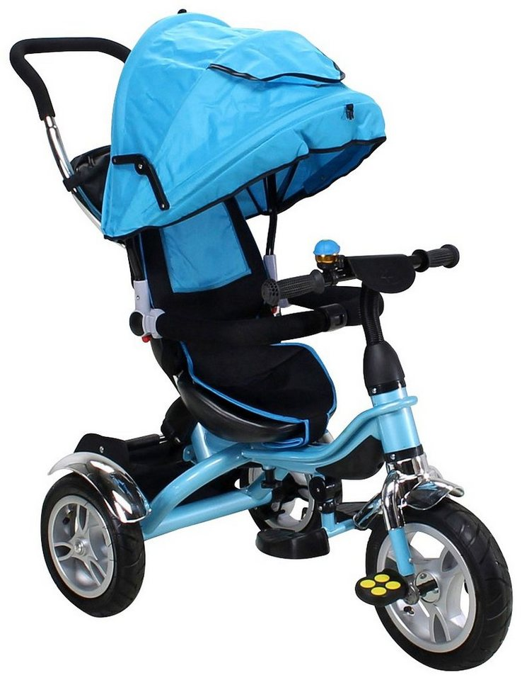 miweba dreirad schieber trike 7 in 1 f r kinder ab 1 jahr 9 zoll blau online kaufen otto. Black Bedroom Furniture Sets. Home Design Ideas