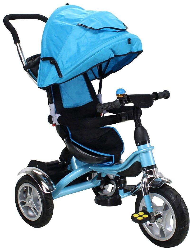 MIWEBA Dreirad »Schieber Trike 7 in 1 «, für Kinder, ab 1. Jahr, 9 Zoll, blau
