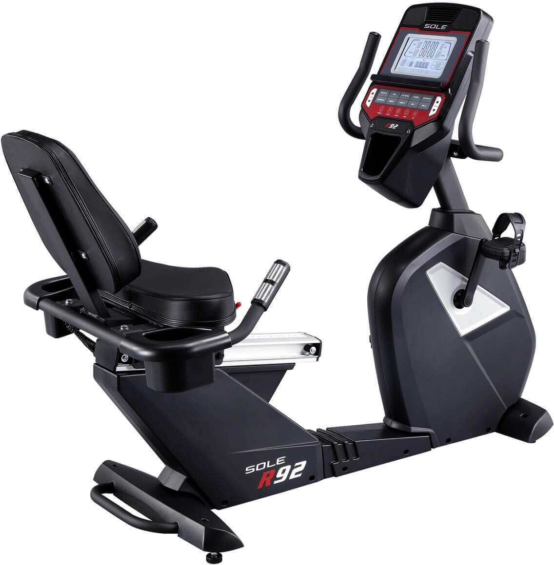 Sitz-Heimtrainer, »R92 Recumbent Bike«, Sole by Hammer