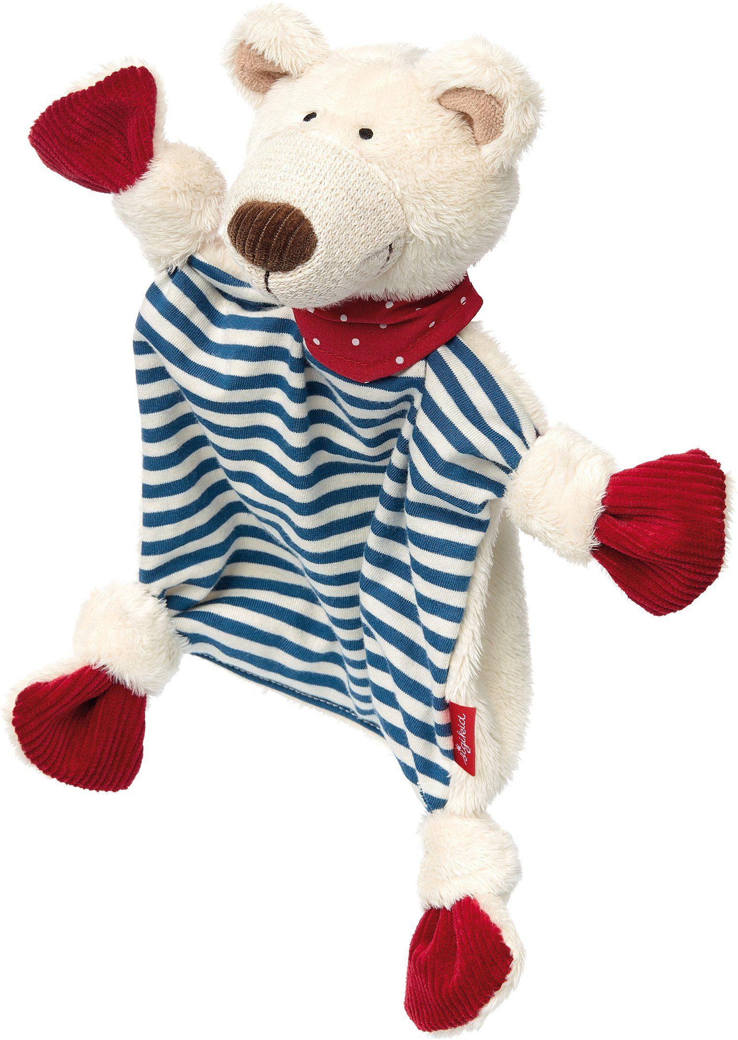 sigikid® Schnuffeltuch, »Eisbär Junge, ca. 25 cm«