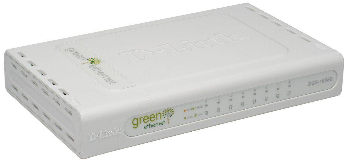 D-Link Switch »DGS-1008D 8-Port Gigabit Switch«