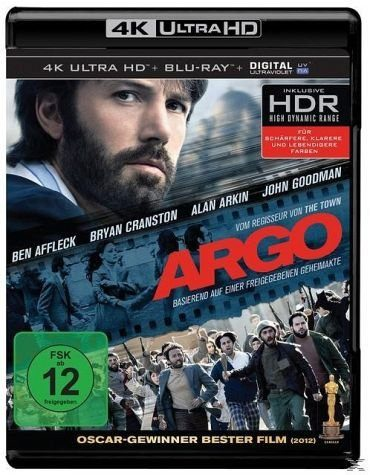 Blu-ray »Argo (4K Ultra HD, Extended Edition, 2 Discs)«