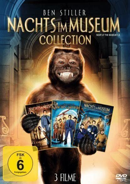 DVD »Nachts im Museum 1–3 Collection DVD-Box«